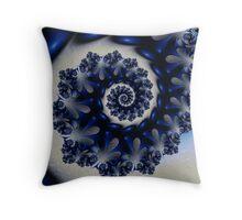 Blueflake Throw Pillow