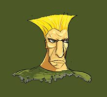 Guile in color by MKIV