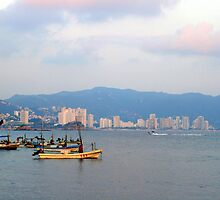 Acapulco, Mexico by Rhonda  Thomassen