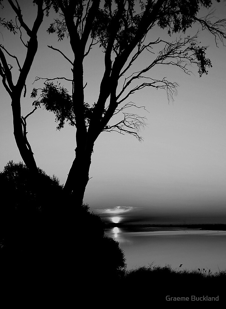Sunset at Lake Connawarre - Geelong by Graeme Buckland