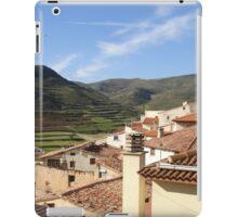 a historic Andorra landscape iPad Case/Skin