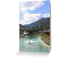 an awesome Andorra landscape Greeting Card