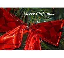 The Red Bow Photographic Print