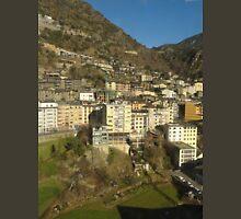 an unbelievable Andorra landscape Unisex T-Shirt