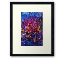 Coral Reef Framed Print