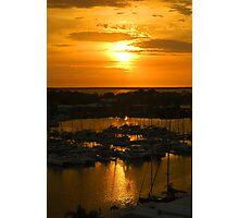 Golden Vista Photographic Print