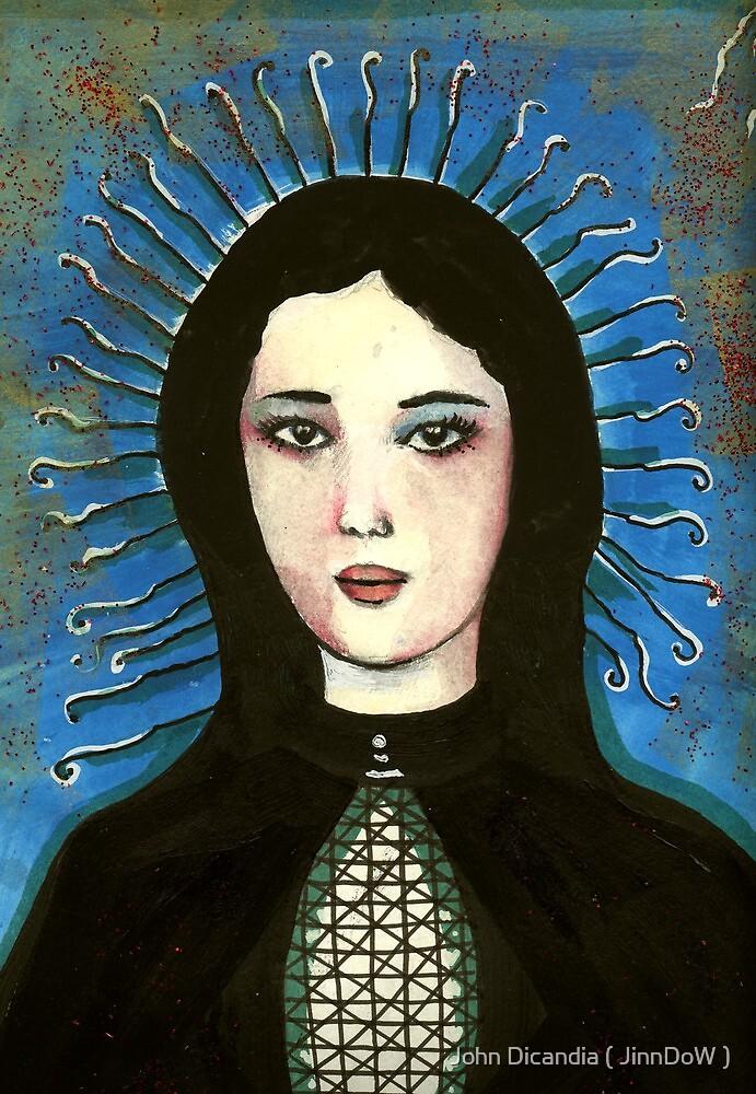 Ligeia - A Portrait In Black by John Dicandia ( JinnDoW )