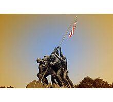 War Momument Memorial Photographic Print
