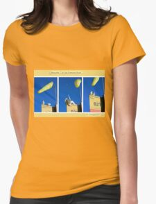 The locals of Lady Robinsons Beach  Womens Fitted T-Shirt