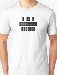 I AM A REDBUBBLE WIDOWER T-Shirt