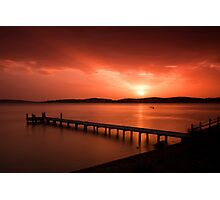 Green Point Sunset Photographic Print
