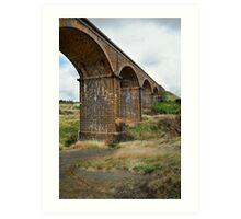 Railway Bridge, Malmsbury Victoria Art Print
