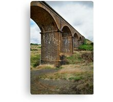 Railway Bridge, Malmsbury Victoria Canvas Print