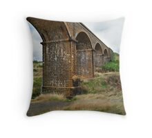 Railway Bridge, Malmsbury Victoria Throw Pillow