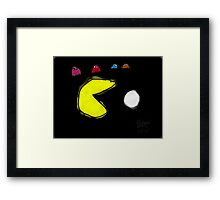 Pac-Man and the Ghosts  Framed Print