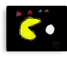Pac-Man and the Ghosts  Canvas Print