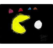 Pac-Man and the Ghosts  Photographic Print