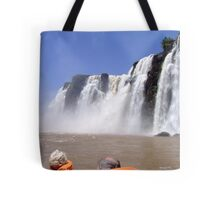 What a Thrill....Iguassu Falls, South America Tote Bag