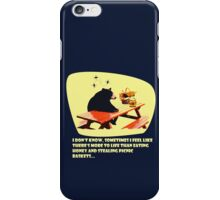 Bear - More to life iPhone Case/Skin