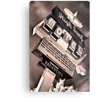 High Surf Motel Metal Print