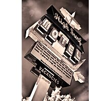 High Surf Motel Photographic Print