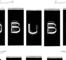 I AM A REDBUBBLE REBEL Sticker