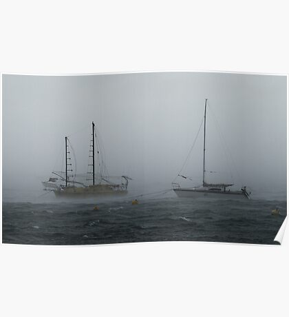 Wind and Rain Poster
