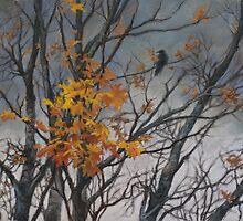 Autumn wind by Vera Kalinovska