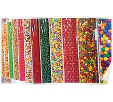 Candy Tubes Poster