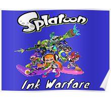 Splatoon Ink Warfare Poster