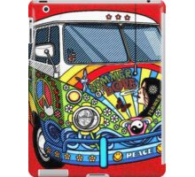 Vw Hippy Bus iPad Case/Skin