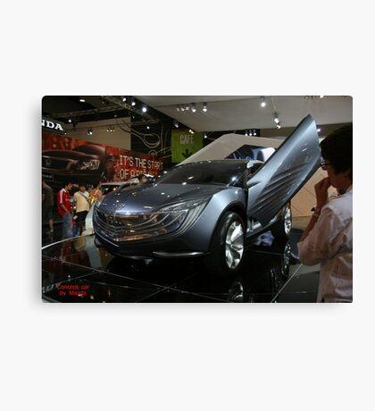 mazda concept car Canvas Print