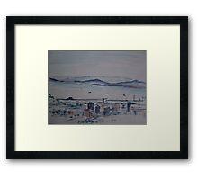 Cape Town. Framed Print