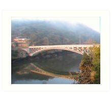 King's Bridge 3D Art Print