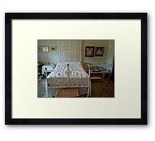 Hope Cottage Museum - Bed Framed Print