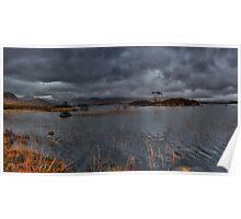 Rannoch Moor: Pending Rain Poster