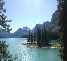 Spirit Island, Rockies, Canada by Julie Lunan