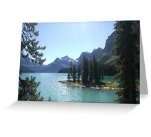 Spirit Island, Rockies, Canada Greeting Card