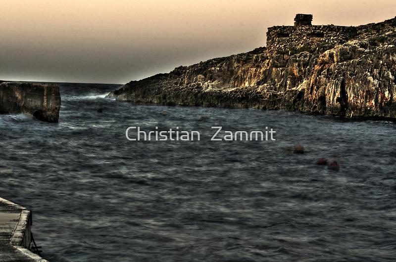 Wied iz-Zurrieq by Christian  Zammit