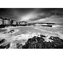 Rough Sea at Bangor Photographic Print