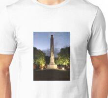 Dunedin ANZAC Cenotaph Queens Gardens Unisex T-Shirt