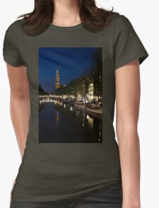 Amsterdam Blue Hour Womens Fitted T-Shirt