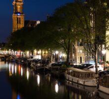 Amsterdam Blue Hour Sticker