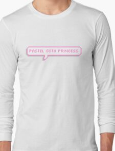 Pastel Goth Princess Long Sleeve T-Shirt