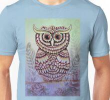 Rock-a-billy Ruru Blue Unisex T-Shirt