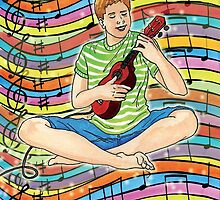 Ukulele teen tripper by didielicious