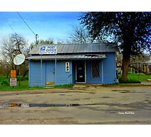Texas Post Office Photographic Print