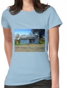 Texas Post Office Womens Fitted T-Shirt