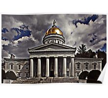 Vermont State House Poster