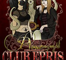 Club Epris Poster by Carly Sheil